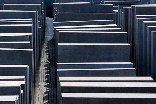 The Holocaust Memorial Museum. Berlin