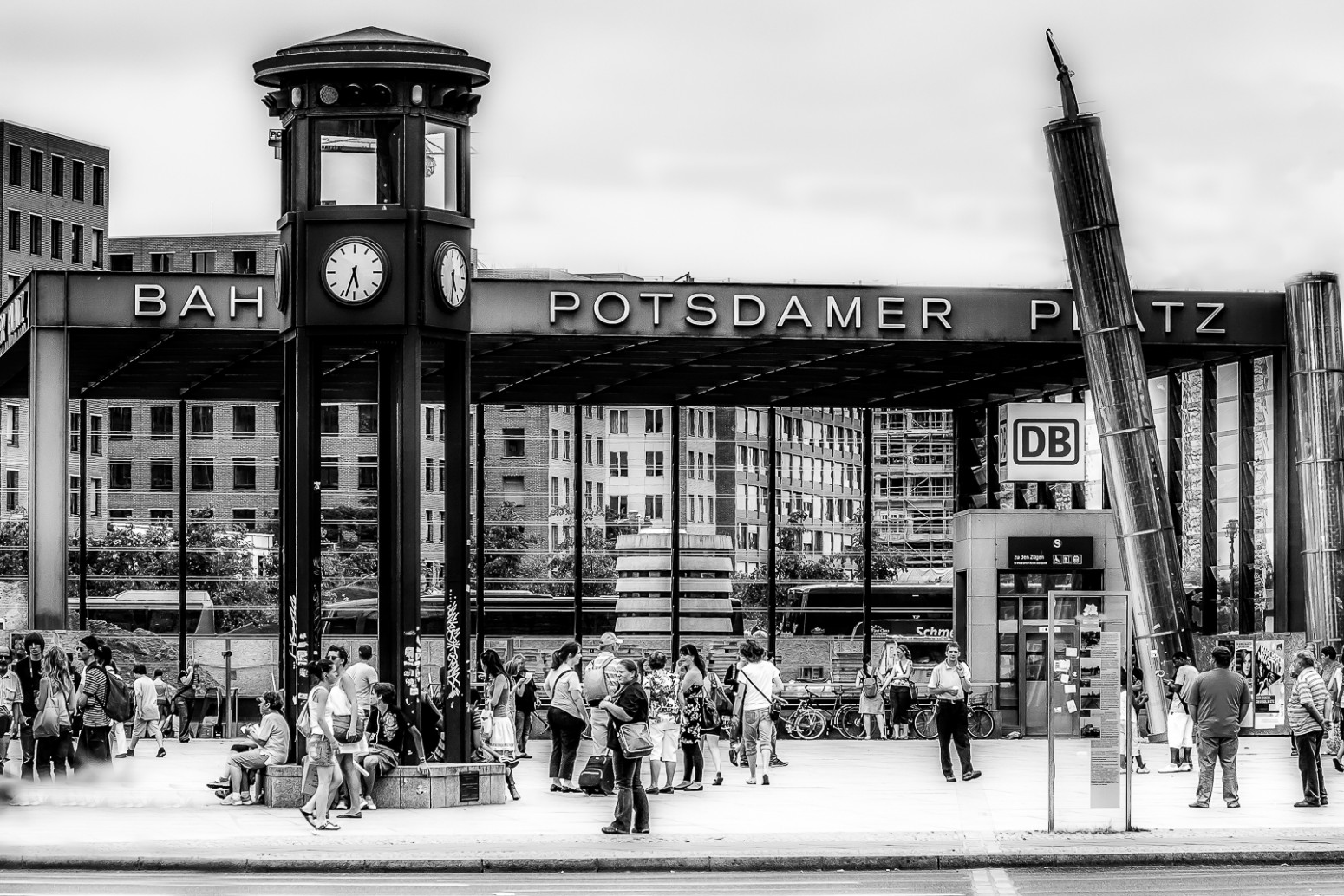 Bahnhof Potsdamer Platz. Berlin