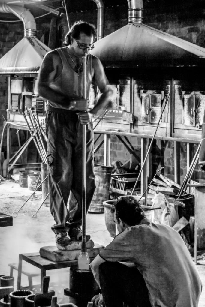 Murano glass workers