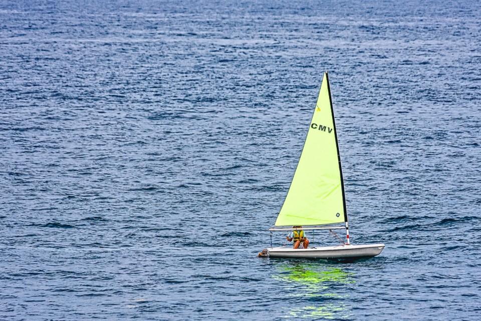 Solitude in the Mediterranean sea