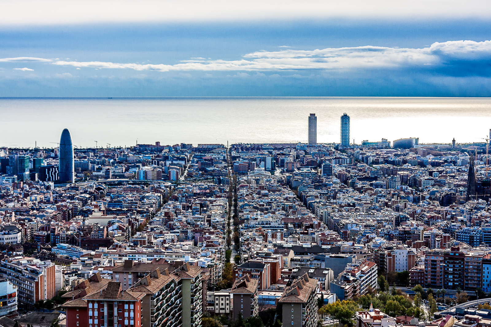 barcelona skyline bcl photography barcelona skyline bcl photography