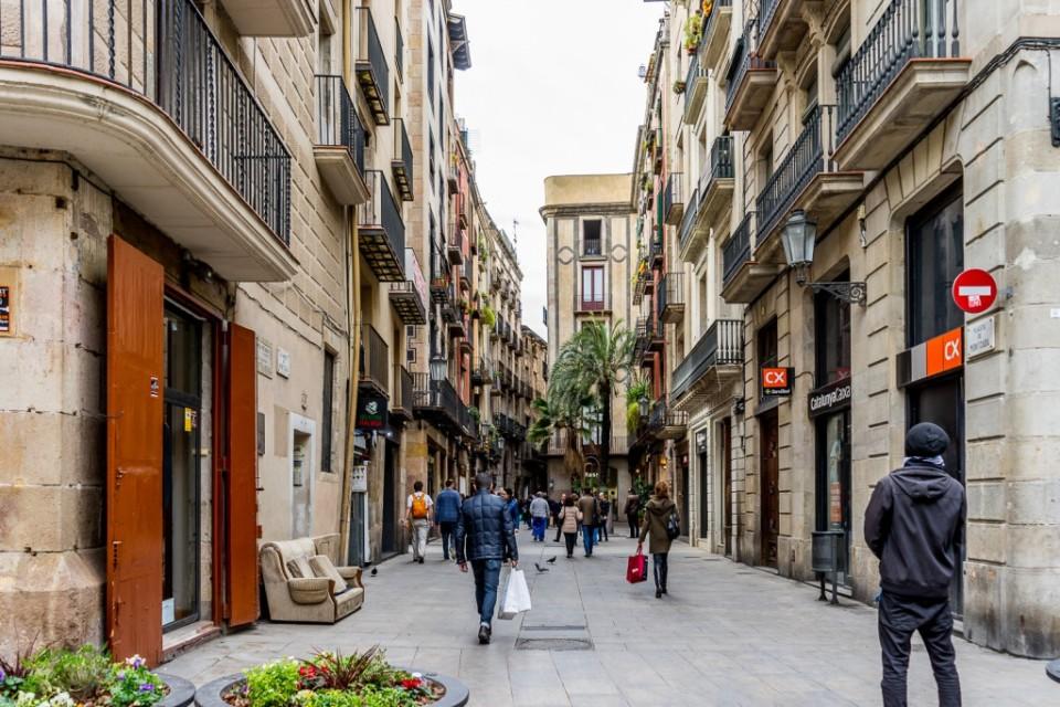 Moncada Street. Barcelona