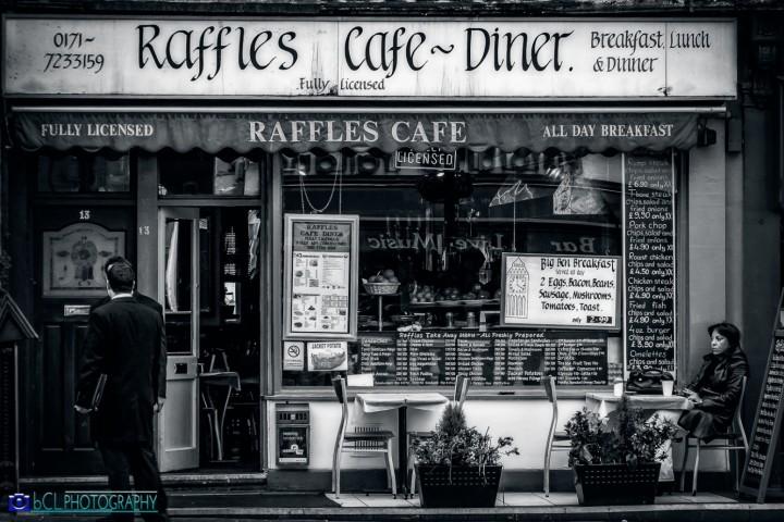 Raffles Cafe-Dinner. London