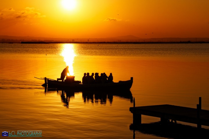 Sunset in l'Albufera