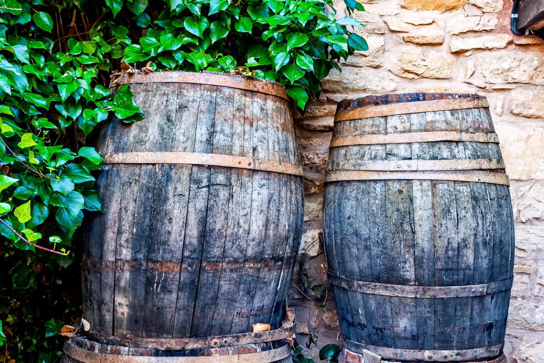 2 barrels