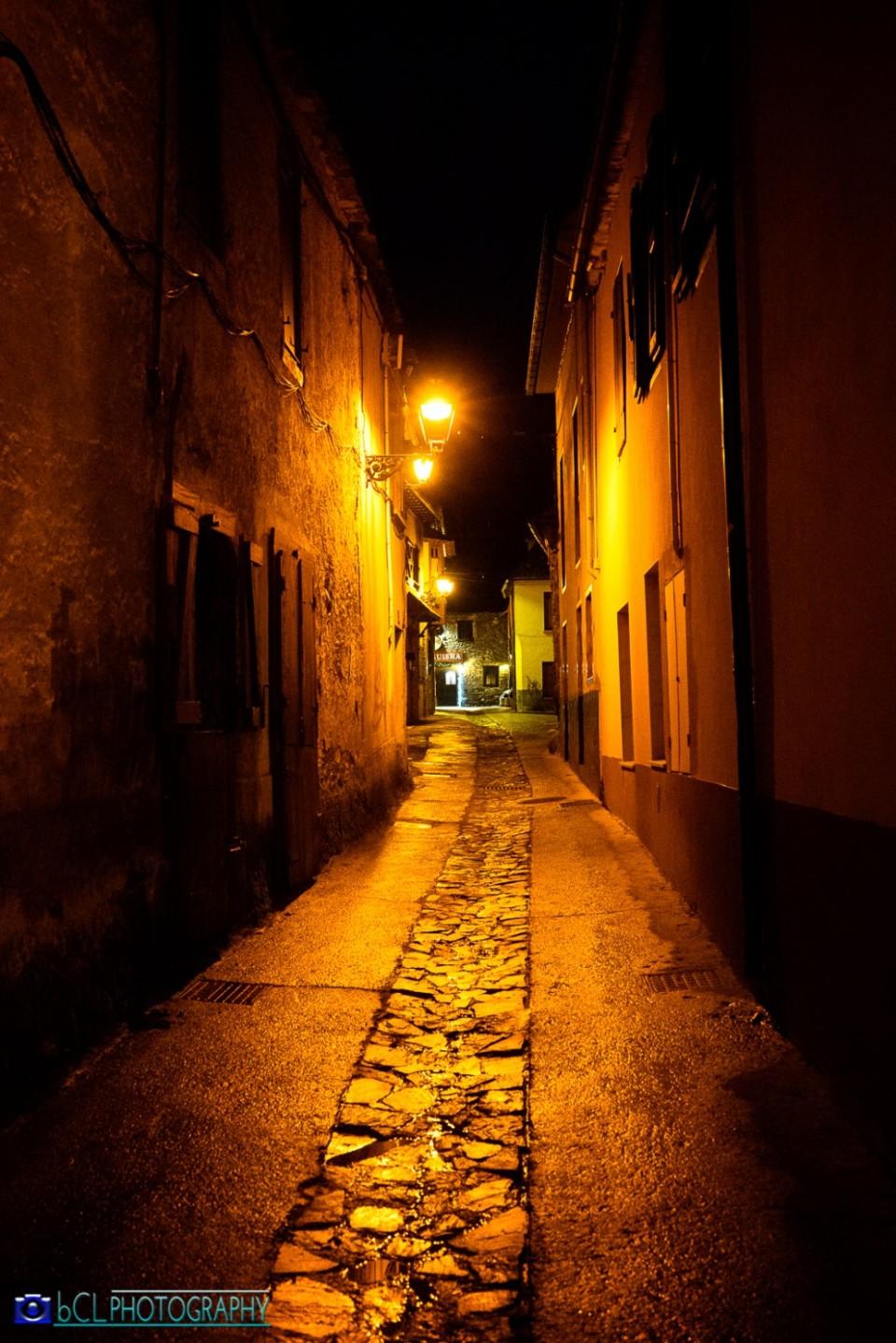 Old street Vielha (Val d'Aran)