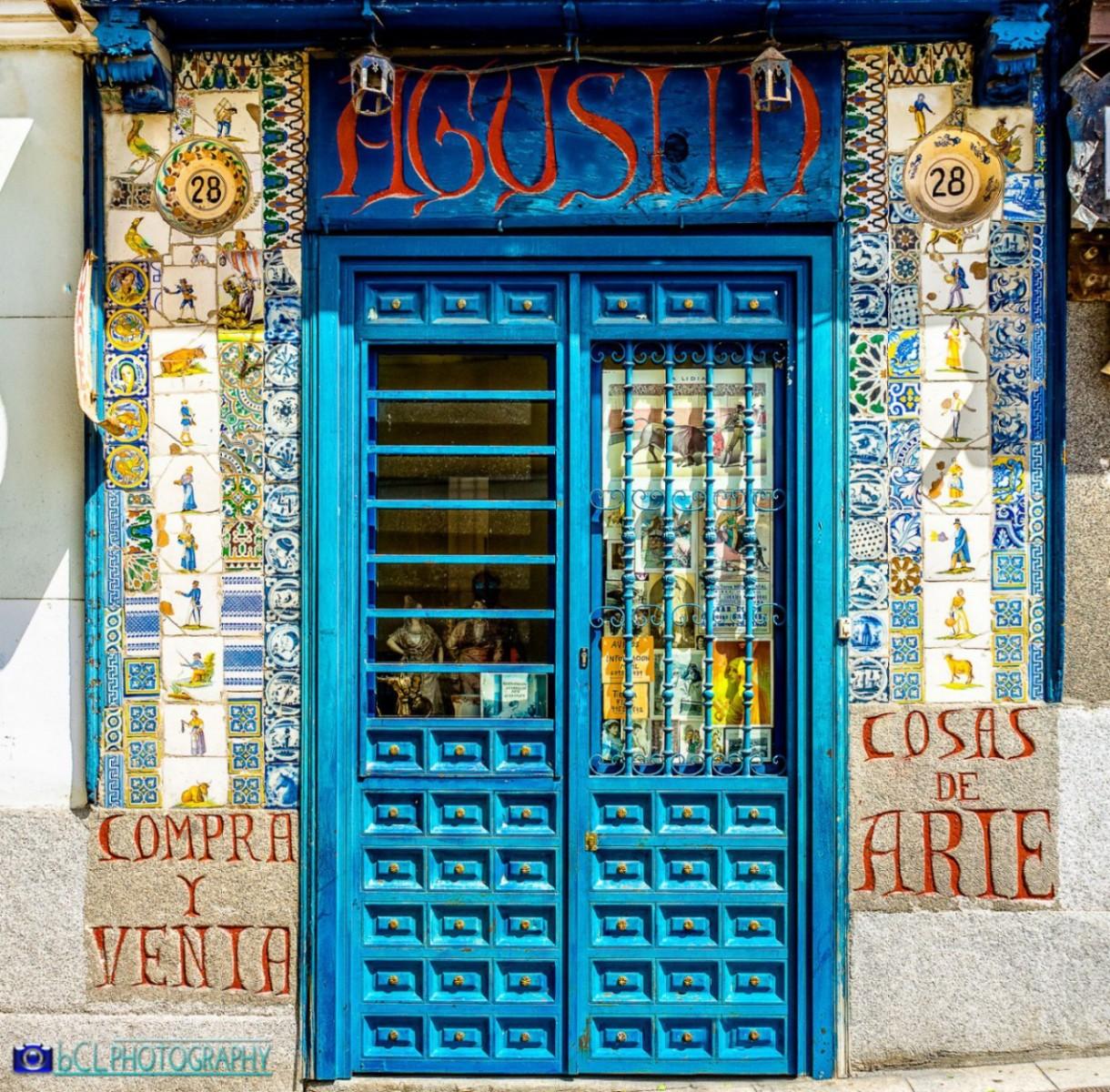 Door in Madrid