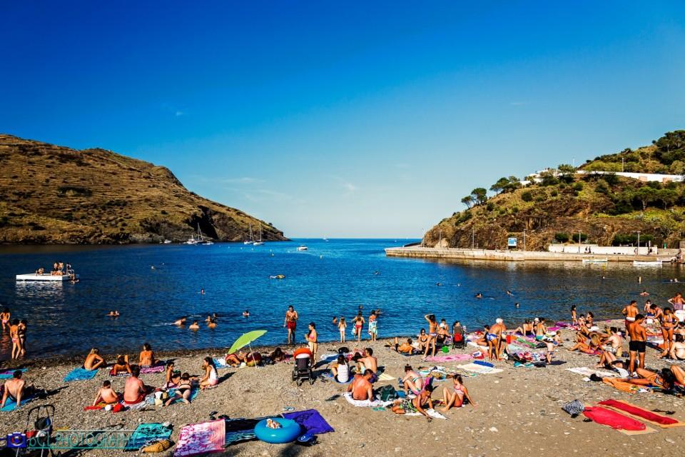 Portbou  beach