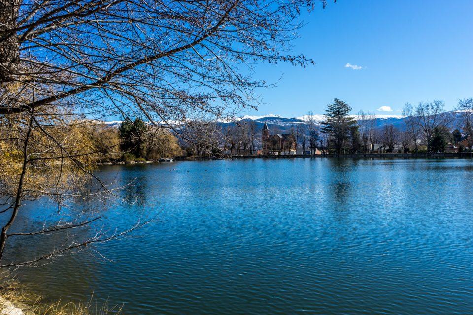 L'estany de Puigcerdà. Puigcerdà Lake.