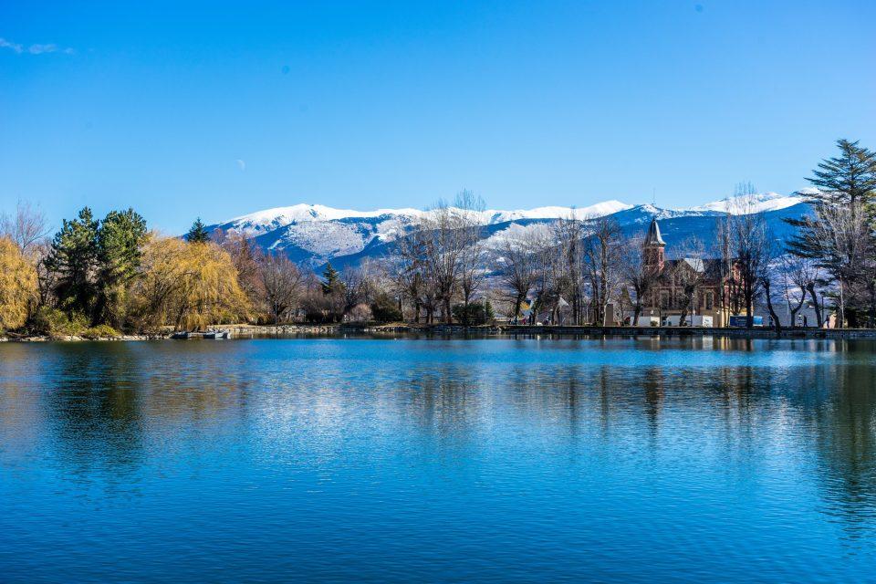 L'estany de Puigcerdà. Puigcerdà (Catalonia)